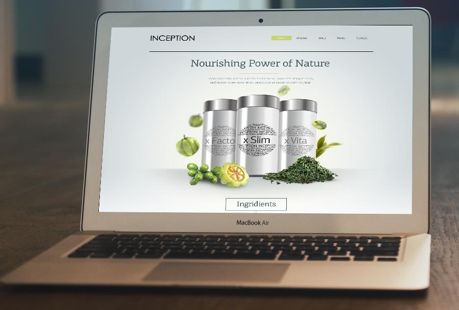 Health Supplements Website