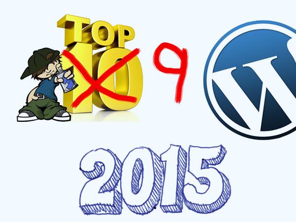 Top 9 WordPress websites in 2015