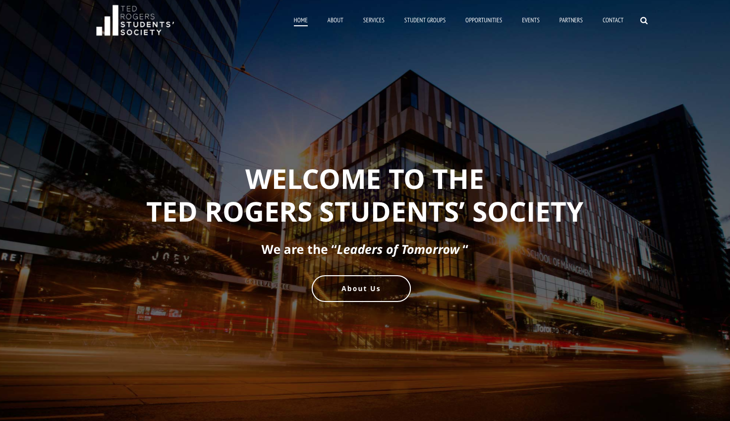 Website for Canada's leading business school