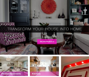 Interior Design and Renovation Company Website